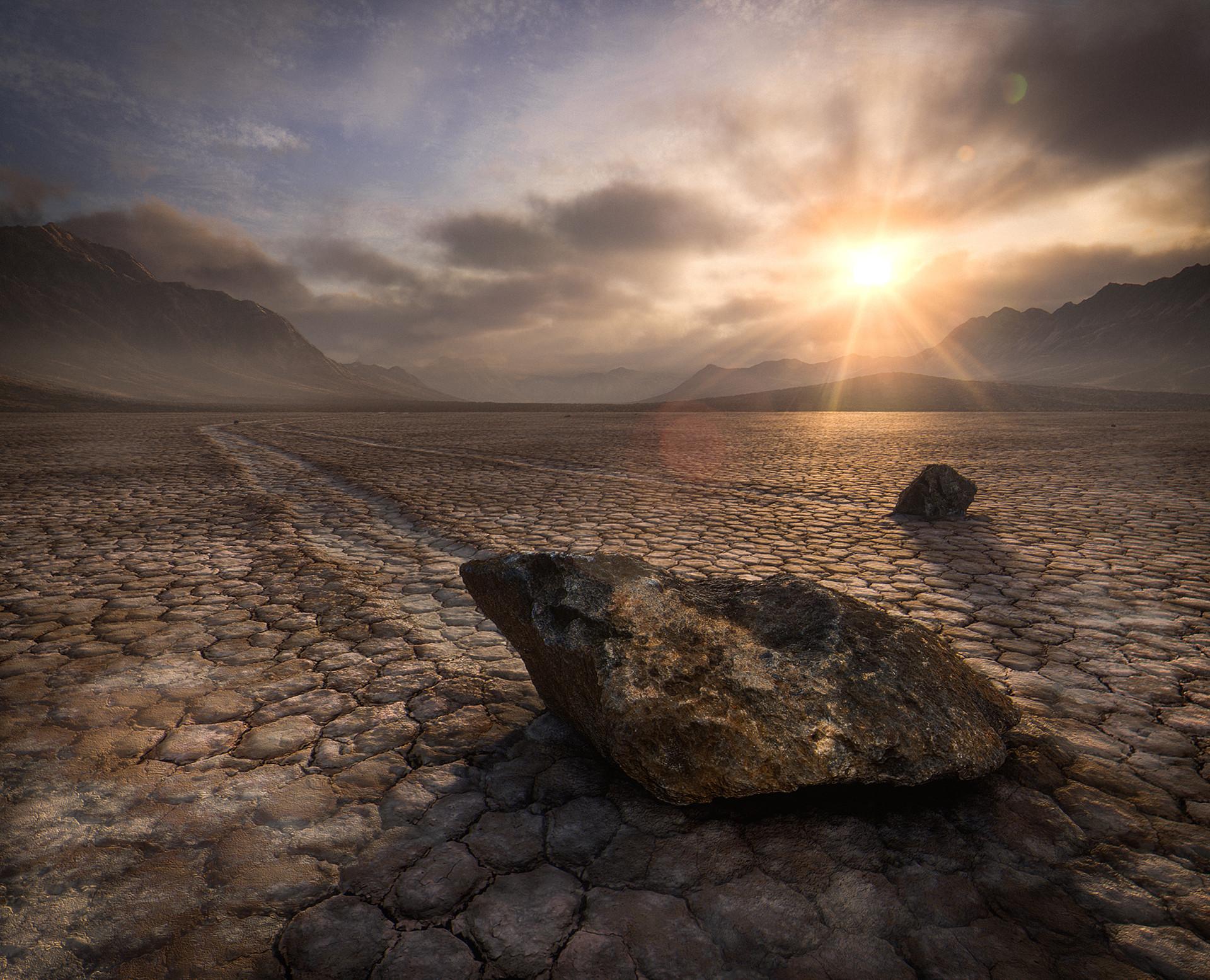 Flynn_Sailing Stones of Death Valley