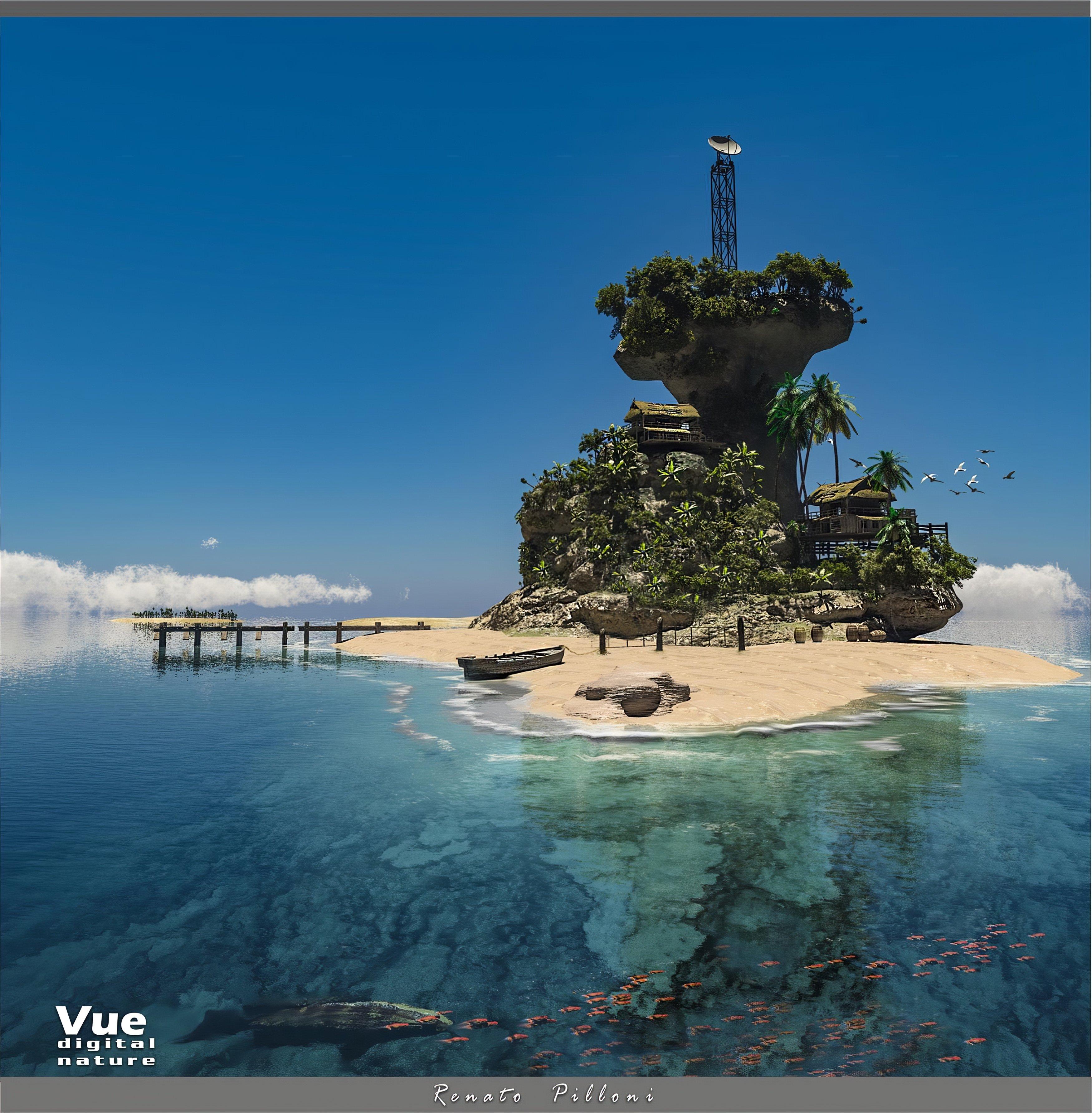 Renato Pilloni_Tropical Island