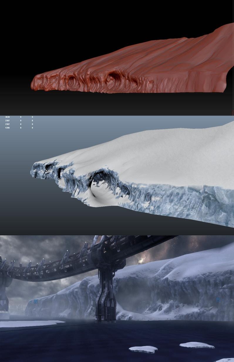 Knox_glacier-zbrush