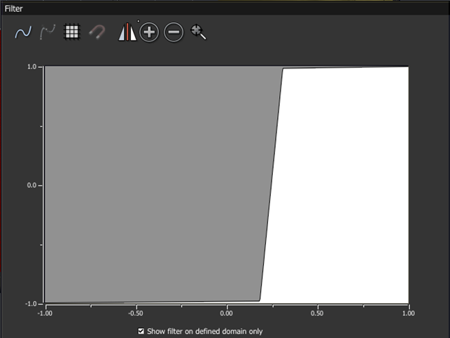 VUE_e-on software_Filter