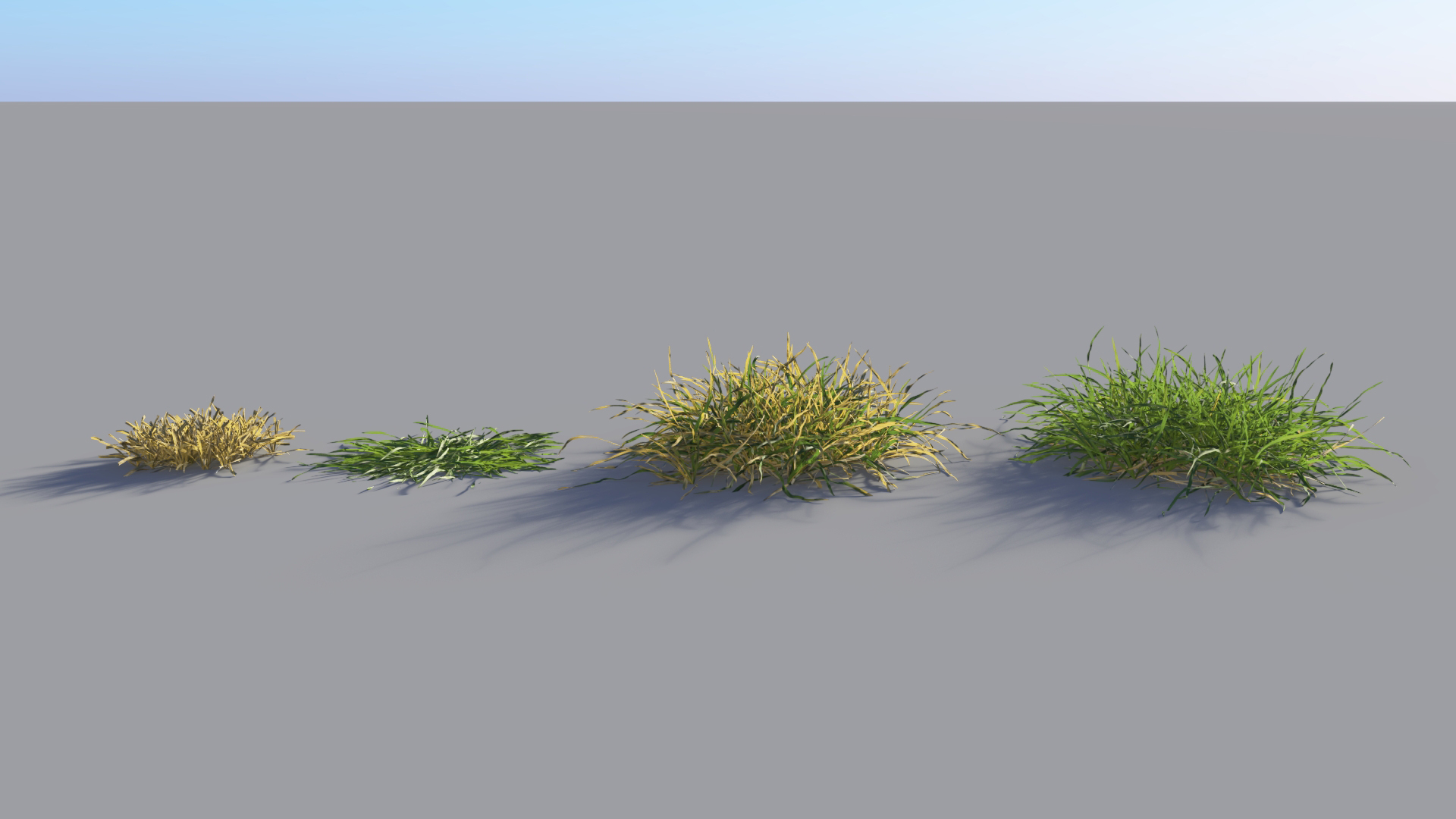 3D model of the Generic grass and lawn engine Generic grass lawn
